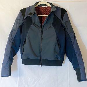 new Theory nylon motorcycle jacket SP